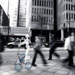 Vélo MORI dans la rue
