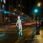 Vélo MORI de nuit