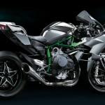 Kawasaki Ninja H2R 2015 : profil droit