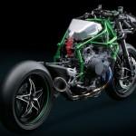 Kawasaki Ninja H2R 2015 : le châssis