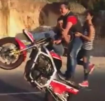 Stunt en famille