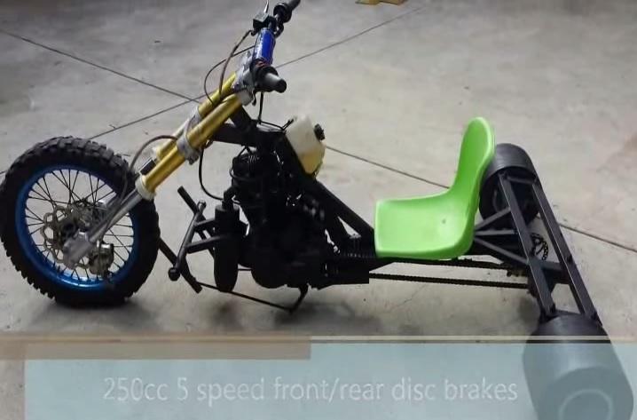 tricycle vitesses motard geek. Black Bedroom Furniture Sets. Home Design Ideas