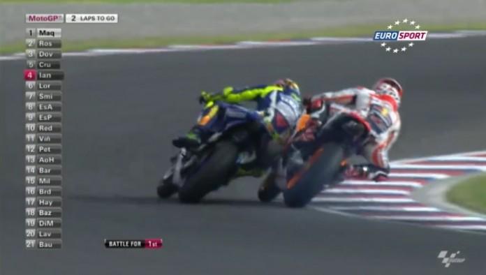 Rossi VS Marquez Argentine