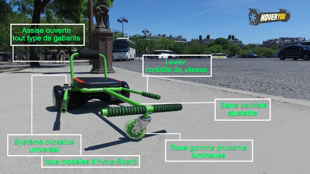 hoveryou hoverboard mini kart