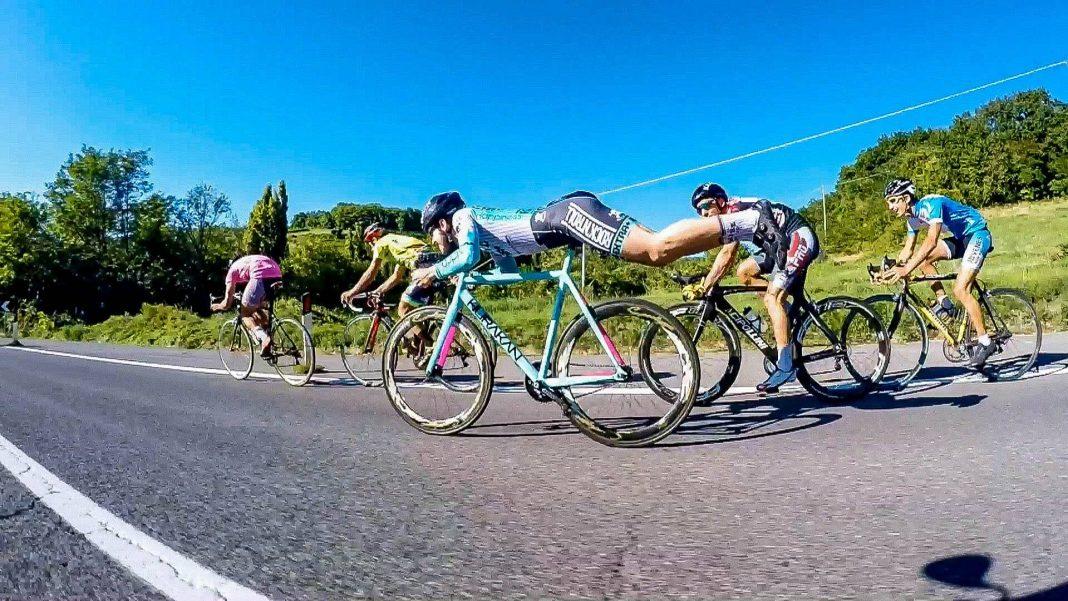 position aérodynamique vélo
