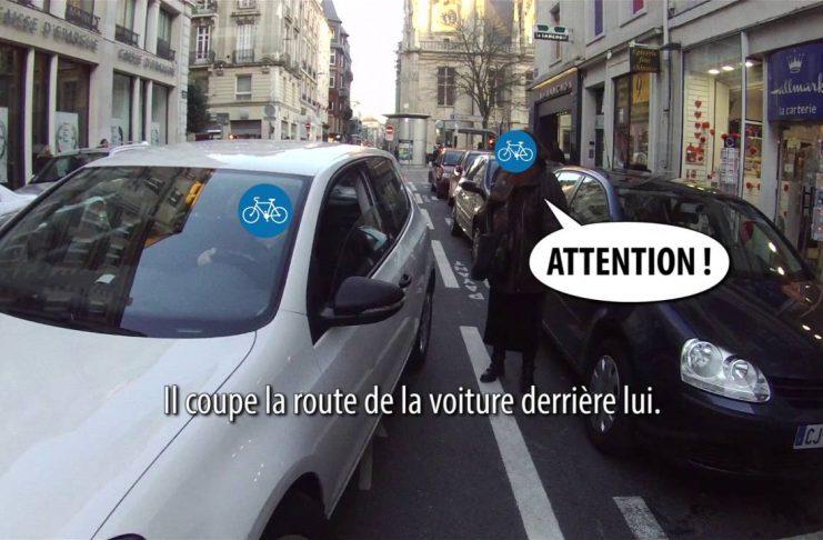 Cycliste résistance