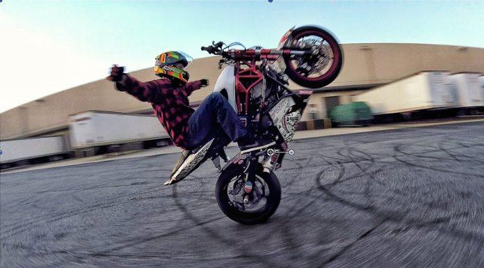 drone et moto