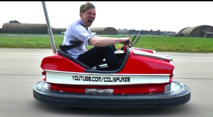 auto tamponneuse avec moteur de moto