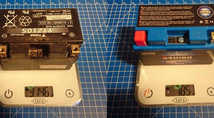 batterie moto lithium