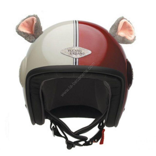 Oreilles décoratives pour casque moto