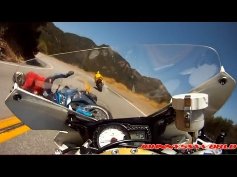 Choc Frontal Entre Deux Motos Motard Geek