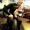 pneu moto clouté