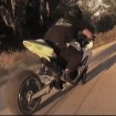 gymkhana drift moto