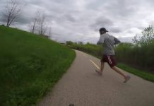 cycliste vs jogger