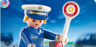 playmobile police radar